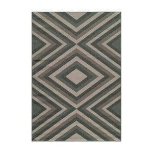 Sivý koberec Nourison Baja Tumbes, 290×201cm
