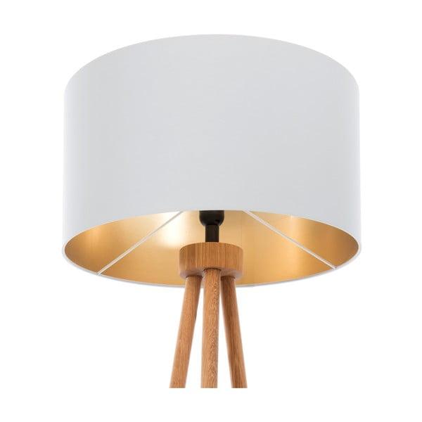 Stojacia lampa Gold Inside Gray