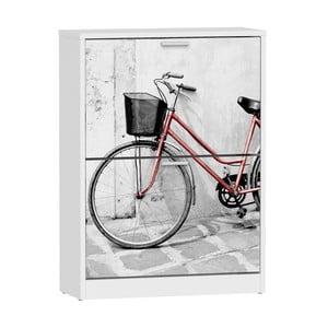 Skrinka na topánky s 2 priehradkami 13Casa Social Bike