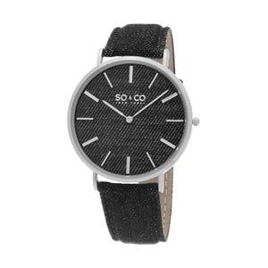 Pánske hodinky SoHo Club Silver/Black