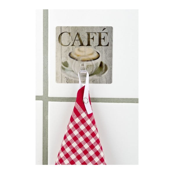Samodržiaci vešiak Wenko Static-Loc Cafe