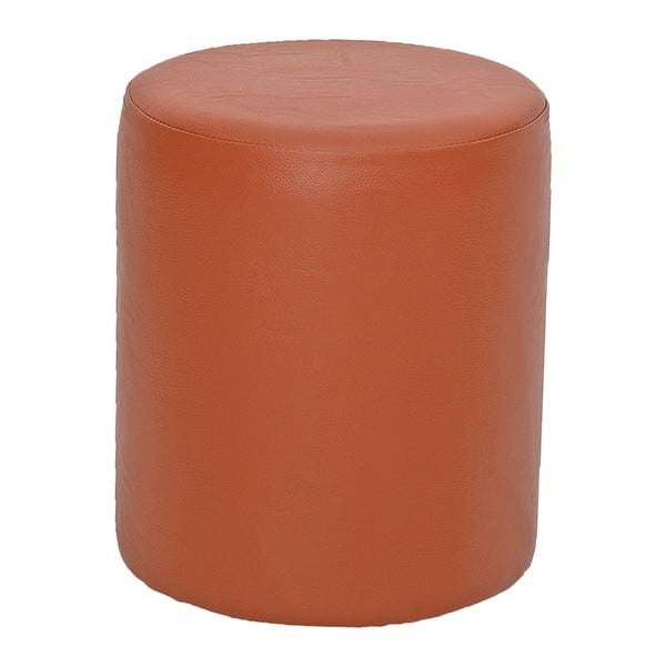 Guľatý puf Rodhio, oranžový