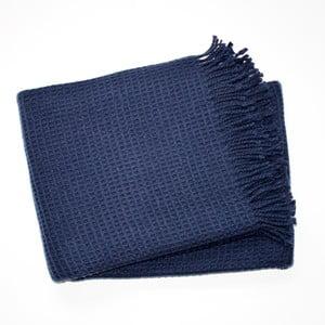 Deka Waffel Navy Blue, 140x180 cm