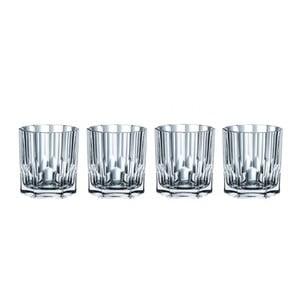 Sada 4 pohárov z krištáľového skla Nachtmann Aspen, 324 ml
