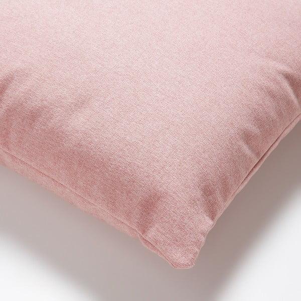 Ružový vankúš La Forma Mak, 45×45cm