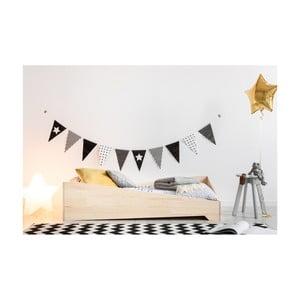 Detská posteľ z borovicového dreva Adeko BOX 7, 90×170 cm