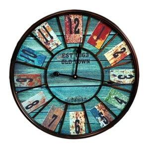 Nástenné hodiny Bluebood, 58 cm