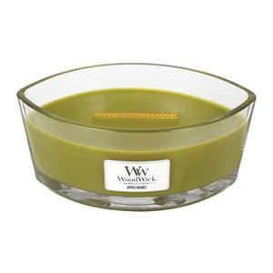 Sviečka s vôňou ovocia a kvetín Woodwick Košík jabĺk, doba horenia 80 hodín