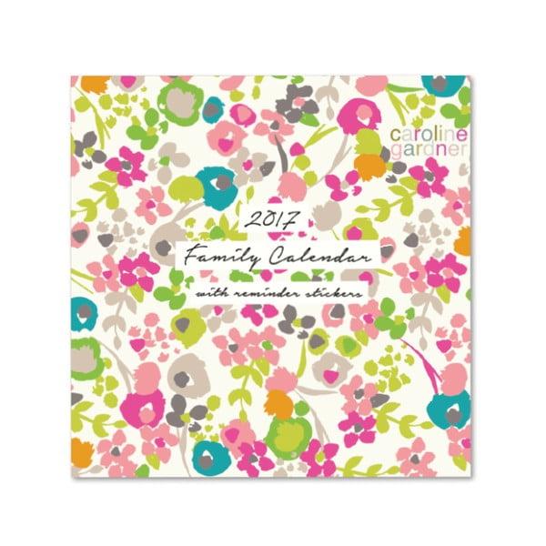 Rodinný kalendár Portico Designs Ditsy
