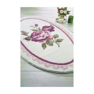 Ružová predložka do kúpeľne Confetti Bathmats Rosa, 66 x 107 cm