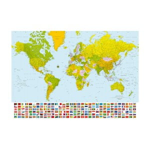 Veľkoformátová tapeta Farebný svet, 366x254 cm