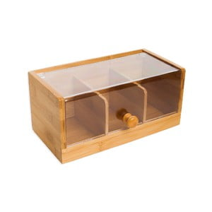 Bambusový úložný box Bambum Lecorino