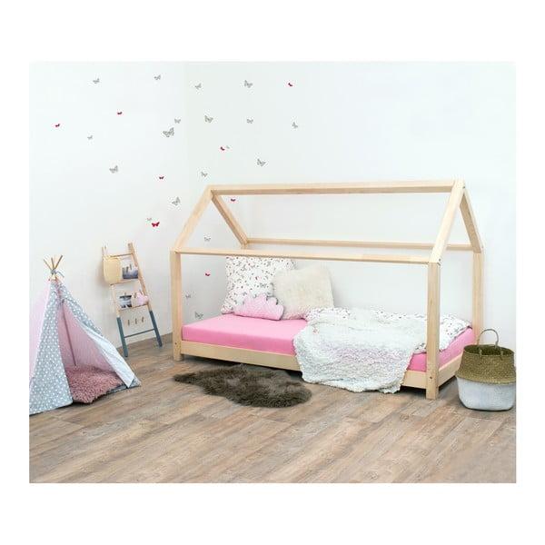 Detská posteľ bez bočníc zo smrekového dreva Benlemi Tery, 120×160 cm