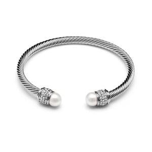 Náramok s perlami a krištáľom Swarovski ® GemSeller