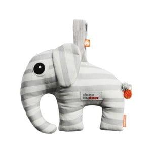 Hudobná hračka Elphee, sivá