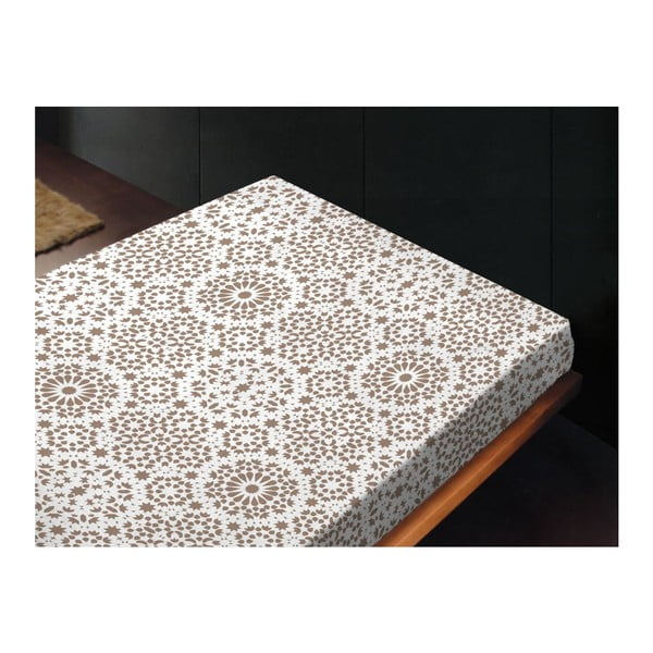 Neelastická posteľná plachta Sur Topo, 180x260 cm