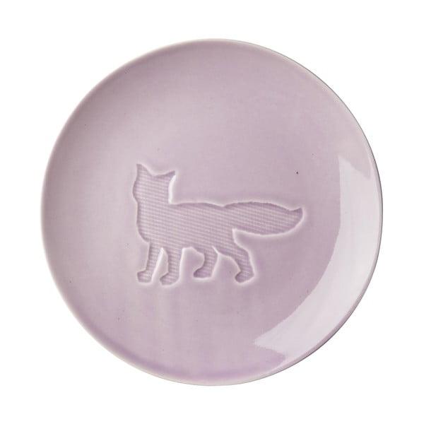 Keramický tanier Animal Lavender