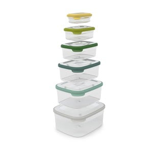 Kompaktná sada 6 misiek na jedlo Joseph Joseph Nest Opal