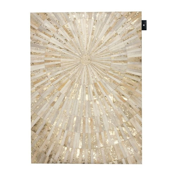 Kožený koberec Sunshine, 170x240 cm