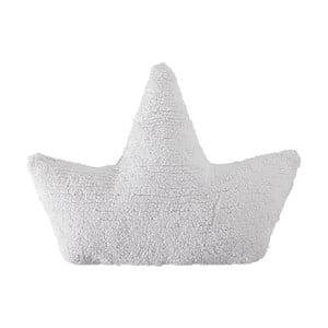 Biely bavlnený ručne vyrobený vankúš Lorena Canals Boat, 22 x 50 cm