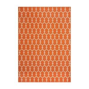 Oranžový koberec Nourison Baja Cuzco, 229×160cm