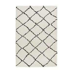 Čierno-biely koberec Mint Rugs Allure Ronno Black White, 120 x 170 cm