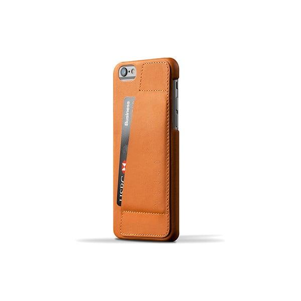 Peňaženkový obal Mujjo na telefón iPhone 6 Tan