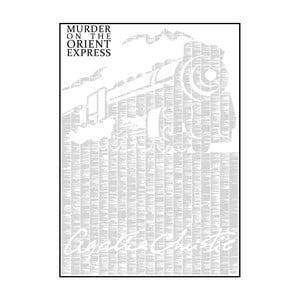 Knižný plagát Vražda v Orient Exprese 1984, 70x100 cm