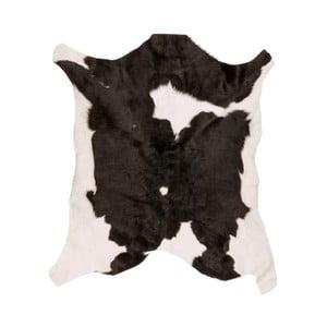 Čierno-biela ovčia kožušina Black Spotted, 80 x 70 cm