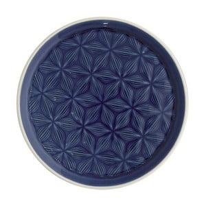 Tmavomodrý keramický tanier Green Gate Kallia, ⌀ 20,5cm