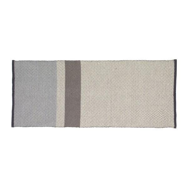 Sivý behúň Hübsch Girro, 80 × 200 cm