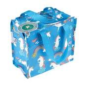 Modrá veľká taška s motívom jednorožcov Rex London Unicorn