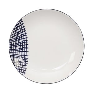 Porcelánový tanier Tokyo Design Studio Le Bleu De Nimes, ⌀ 16,5 cm