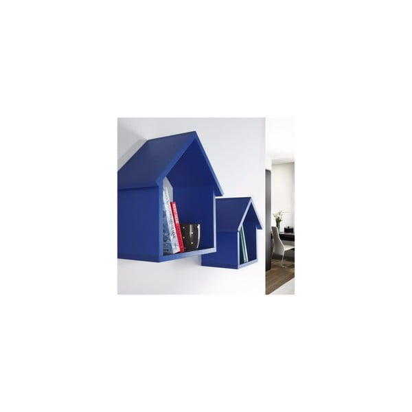 Sada 2 políc Maison, modrá