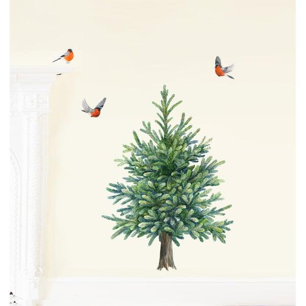 Samolepka na viac použití Christmas Tree M
