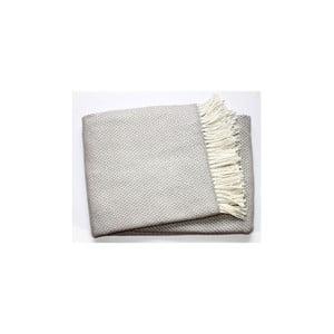 Sivá deka Euromant Zen Plaid, 140x180cm