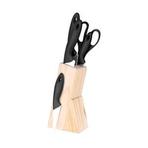 Set bloku so 4 nožmi a kuchynskými nožnicami Renberg Dresde