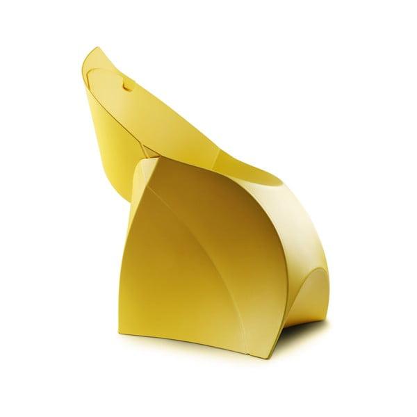 Žltá stolička Flux