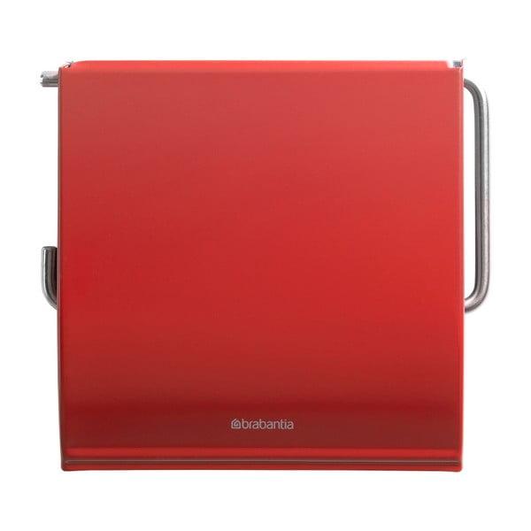 Červený držiak na toaletný papier Brabantia Spa