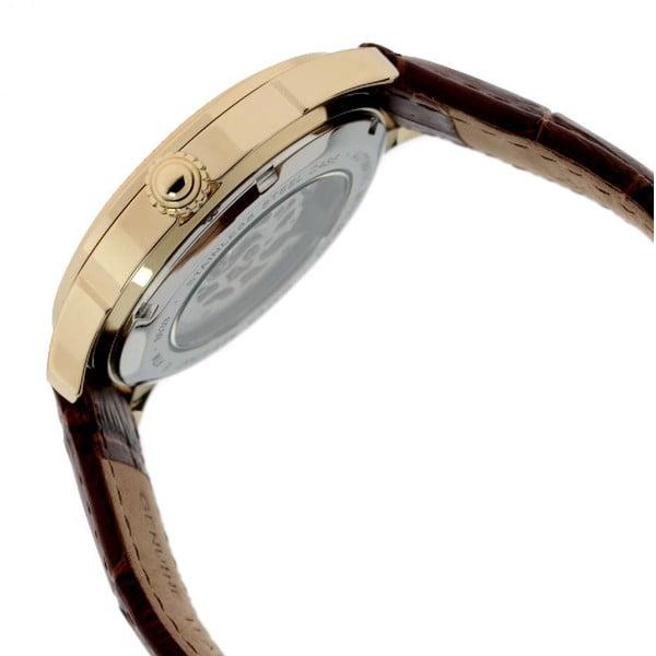 Pánske hodinky Thomas Earnshaw Yellow Gold/Brown