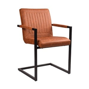 Hnedá jedálenská stolička LABEL51 Rossi