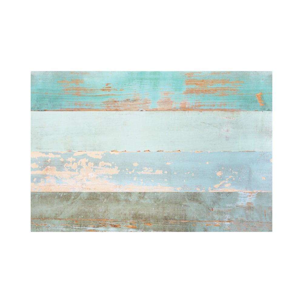Samolepka na podlahu Ambiance Floor Sticker Parquet Floor Cote dOpale, 90 × 60 cm
