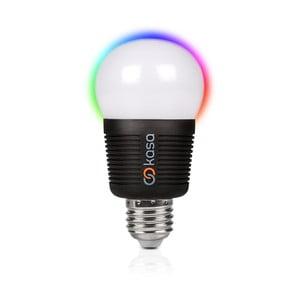 Šikovná LED žiarovka s možnosťou bluetooth ovládania Veho Kasa, E27