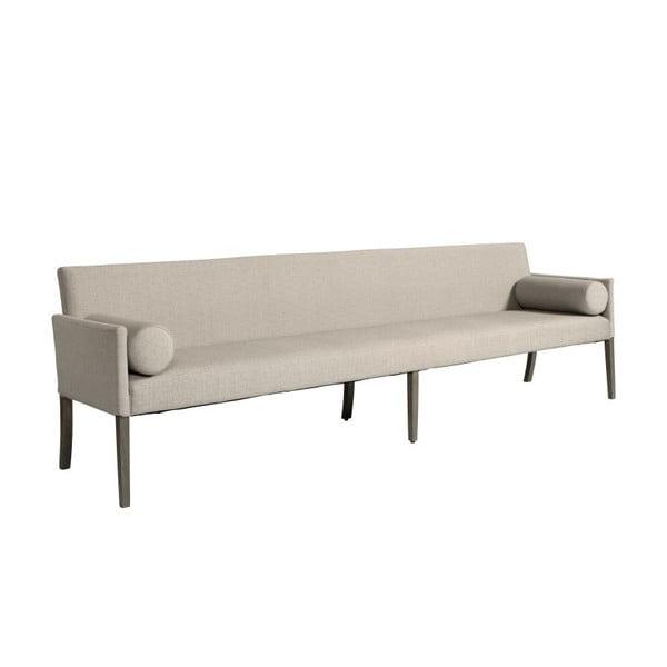 Sofa Cross Smoked Beige, 240x85x70 cm