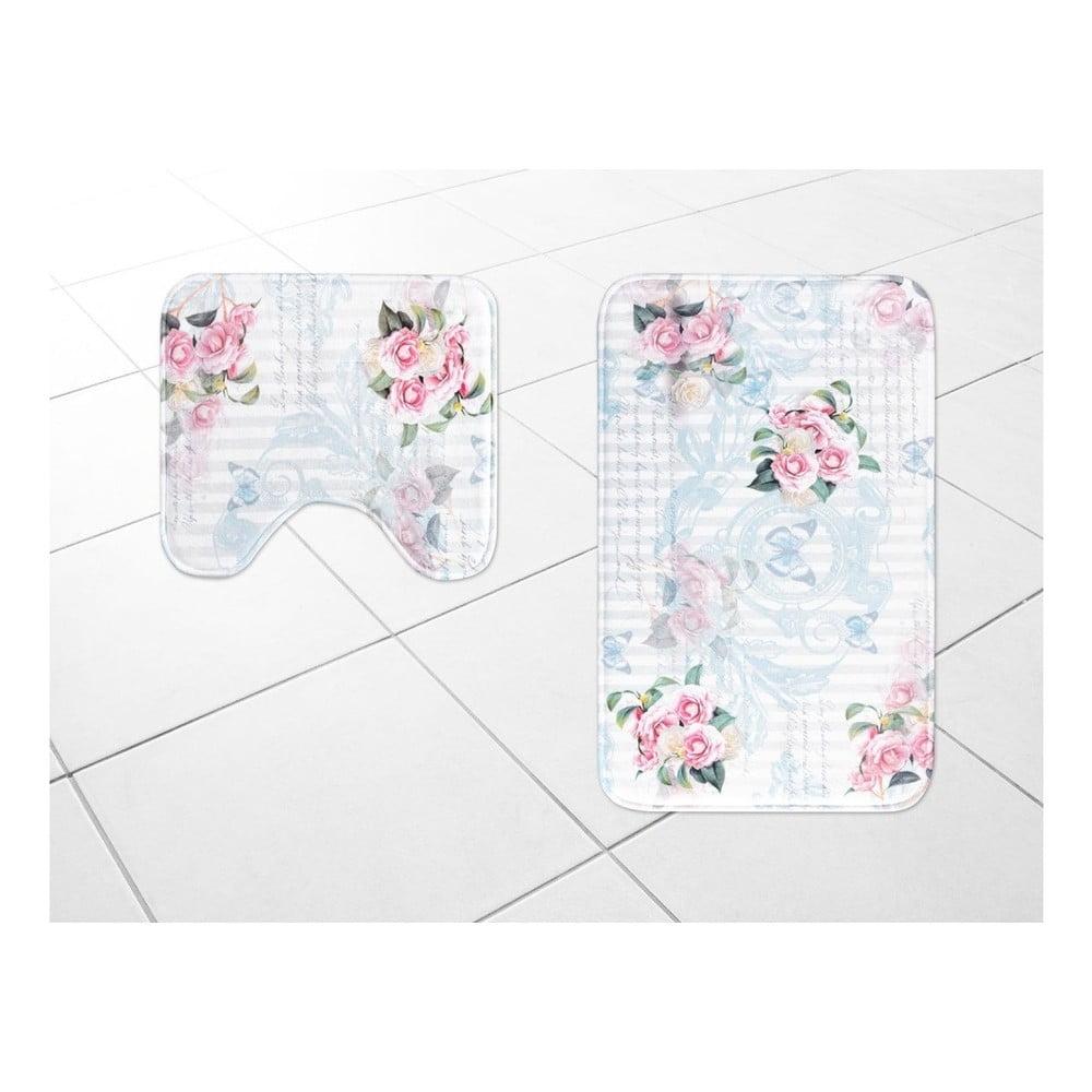 Sada 2 kúpeľňových predložiek Madame Coco Sweet Roses