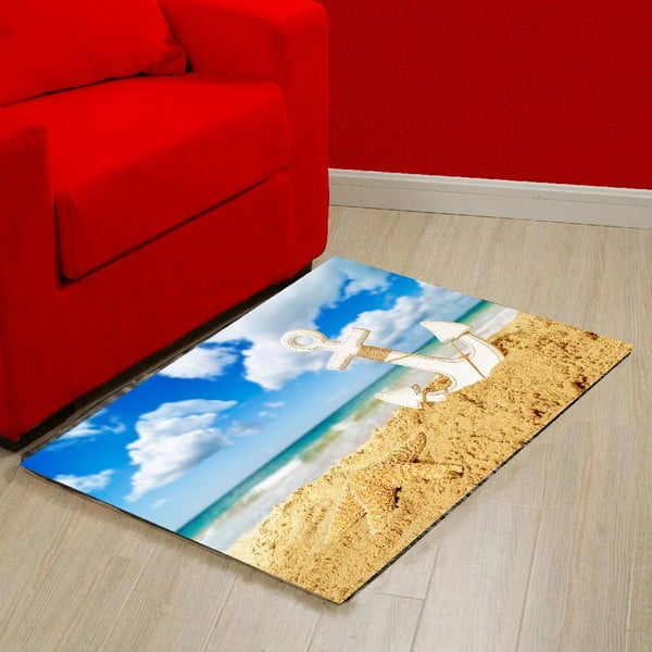 Vinylový koberec Anchor, 52x75 cm