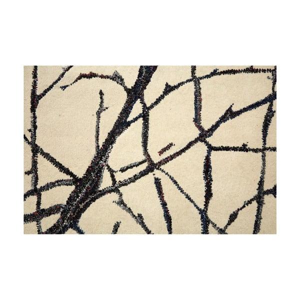 Vyšívaný koberec Large Branch Print, 170x240 cm