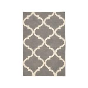 Vlnený koberec Caroline Grey, 140 x 200 cm