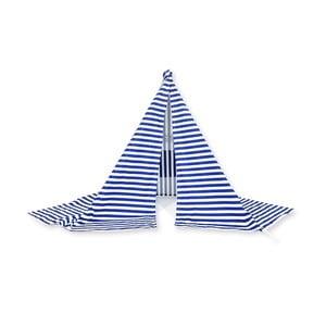 Stan proti vetru Wind Banner Blue Stripes