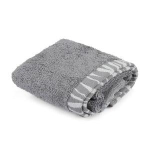 Sivý bavlnený uterák Joey, 30×50 cm